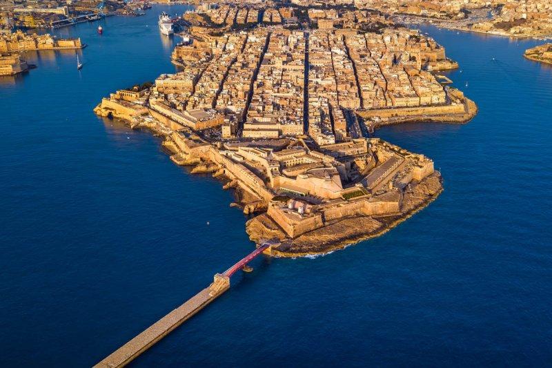 Crucero por los puertos de La Valleta
